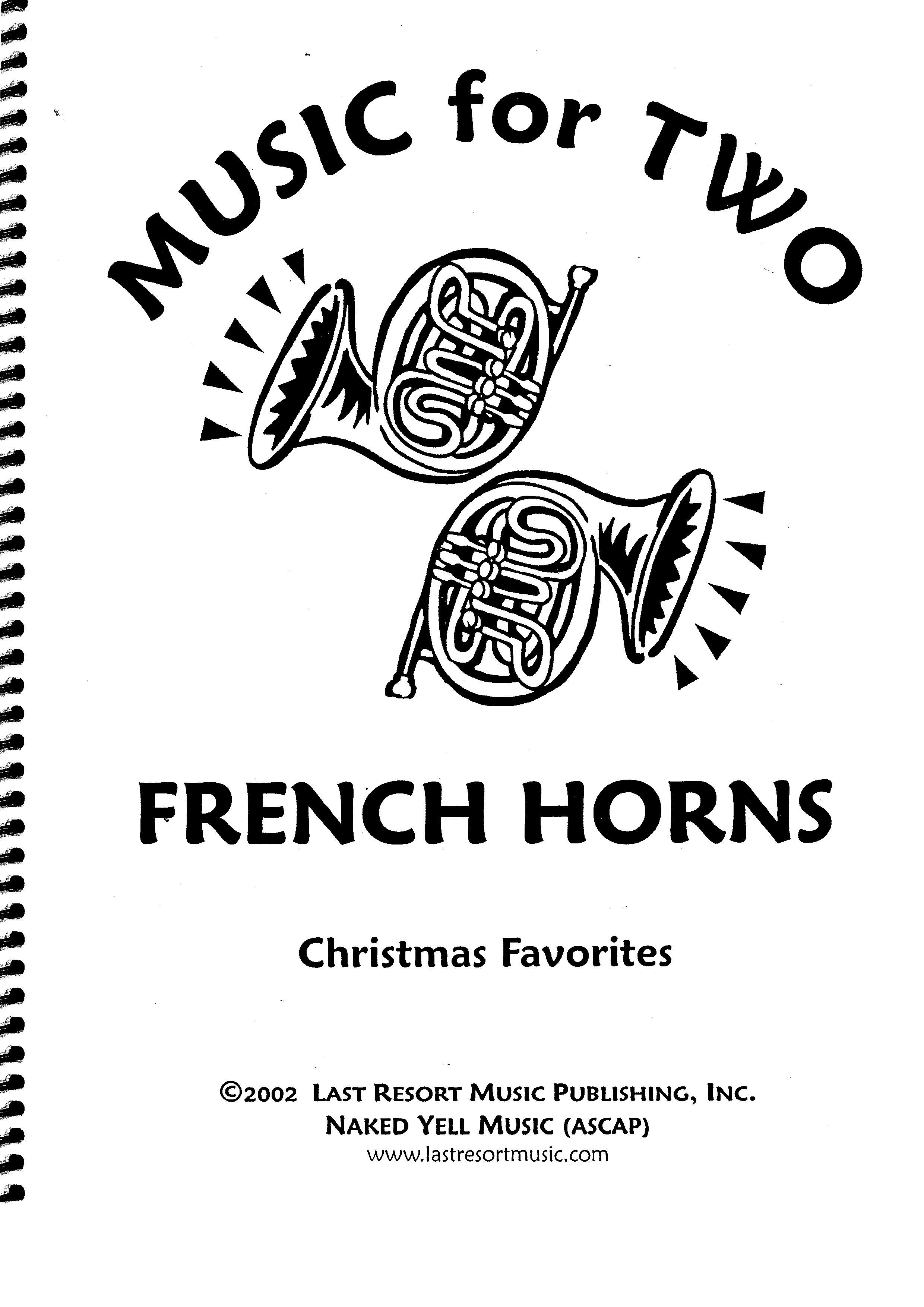 Music for Two French Horns-Christmas Favorites