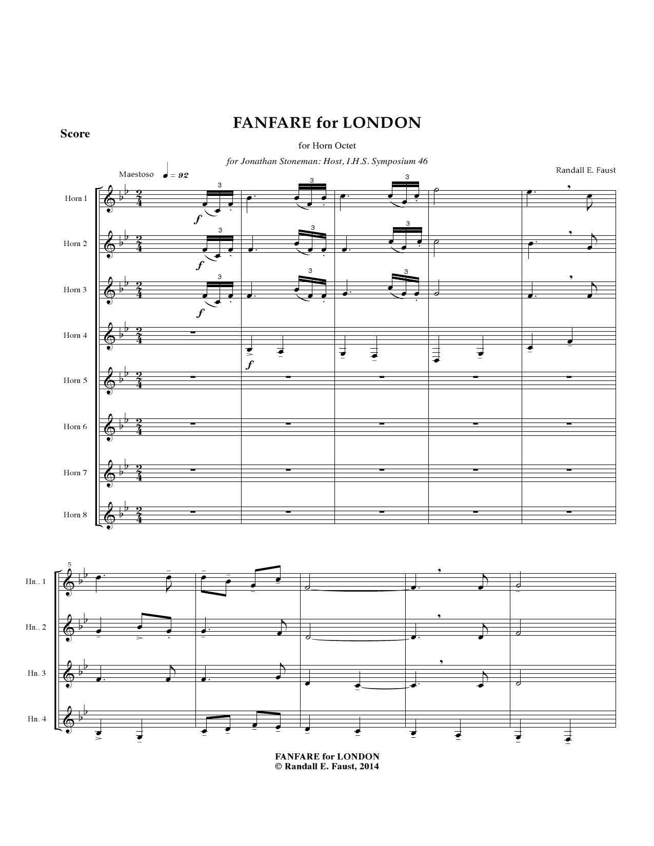 Fanfare for London