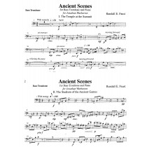 Ancient Scenes for Bass Trombone and Piano