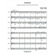 Andante for Horn Octet by Thomas Jöstlein.