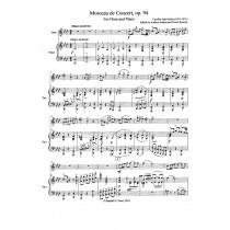 Morceau de Concert for Horn and Piano, Opus 94 by Camille Saint-Saens