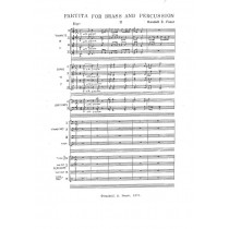 Partita for Brass and Percussion (1973)