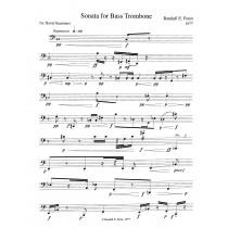 Sonata for Bass Trombone (1976)