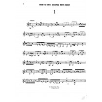 Thirty Two Etudes for Horn by Fiorillo - transcribed by Orrin Olson