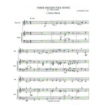 Three English Folk Songs for Horn and Piano (2006)
