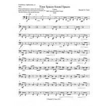 Time Spaces/Sound Spaces - TROMBONE, EUPHONIUM, TUBA