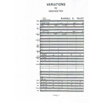Variations for Orchestra (1983/1984)