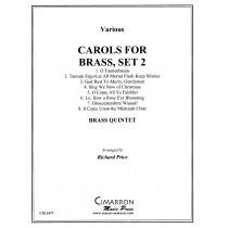 Carols for Brass, Set 2 arranged by Richard Price