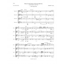 Music for the Horns of the Emerald City  for Horn Quartet or Choir - (2020)