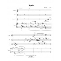 Kyrie for Soprano, Oboe, Horn, and Piano by Harold A. Kafer