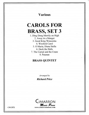 Carols for Brass, Set 3 arranged by Richard Price