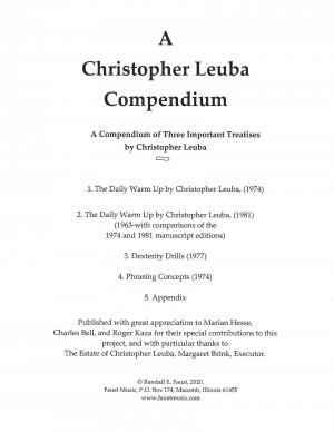 A Christopher Leuba Compendium (2020)