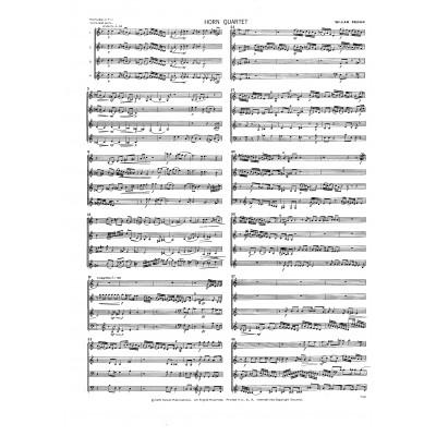 Horn Quartet by William Presser