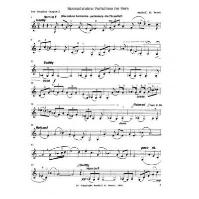 Harmonielehre for Solo Horn
